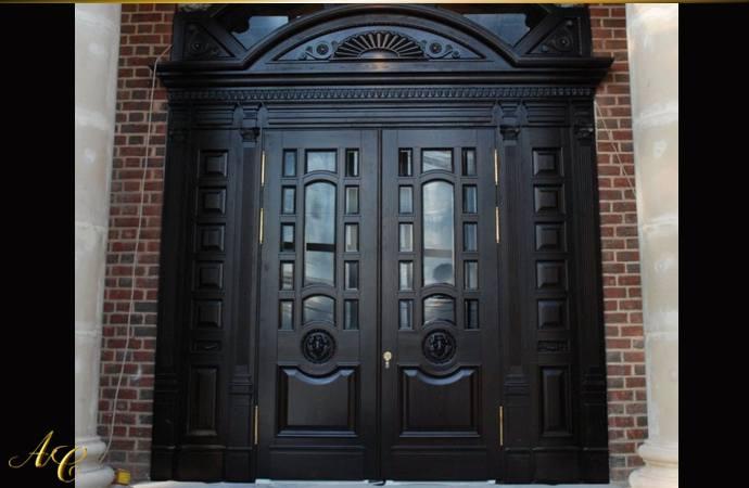 Двери под покраску из массива сосны
